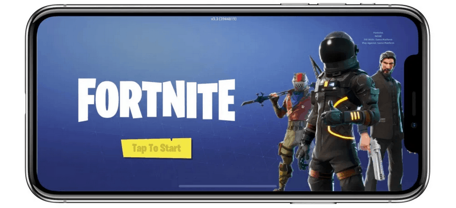 Buying iPhones with Fortnite Installed