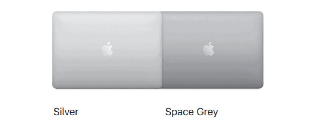 Macbook Pro 16 inch colour