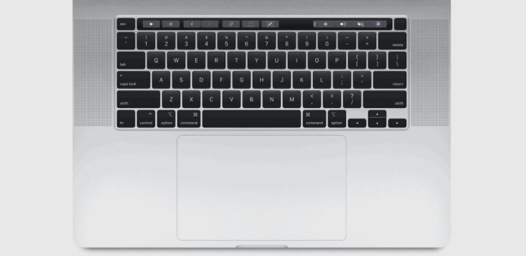 Macbook Pro 16 inch Magic Keyboard