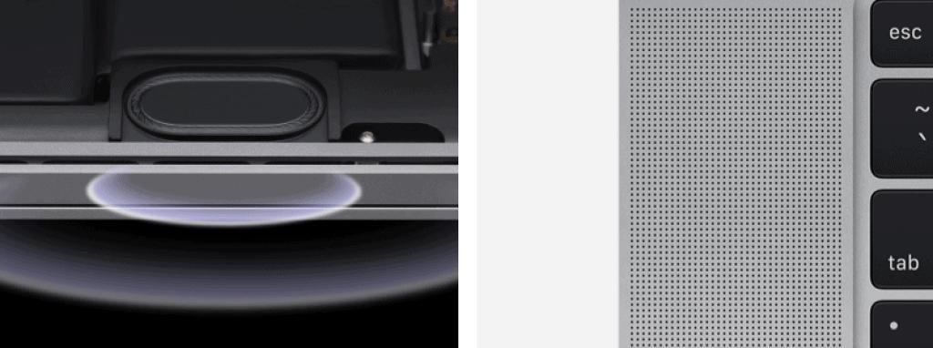 Macbook Pro 16 inch Speakers