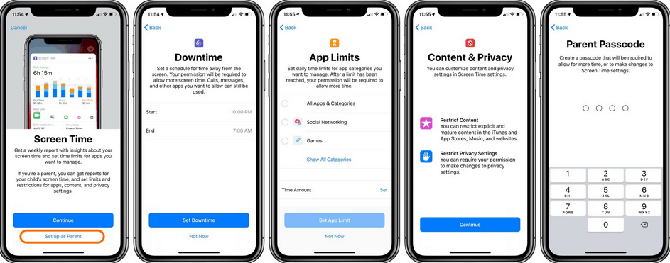 How to use Parental Control on iPhone