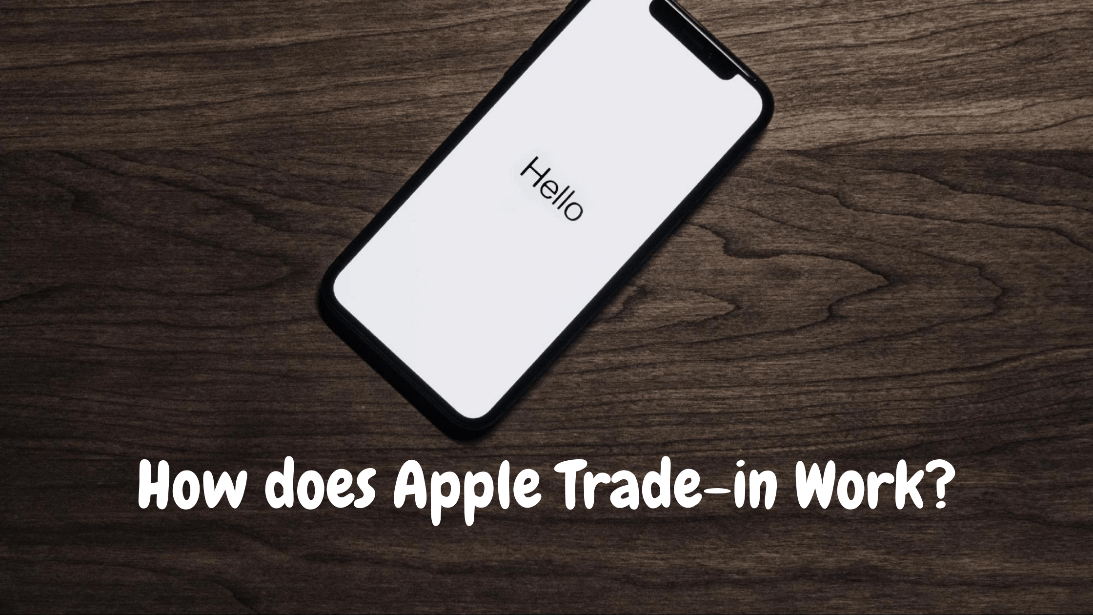 How does Apple Trade-in Work