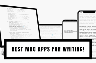 Best Mac Apps for Writing.