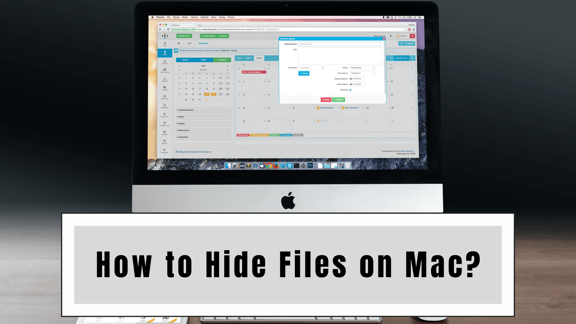 How to Hide Files on Mac