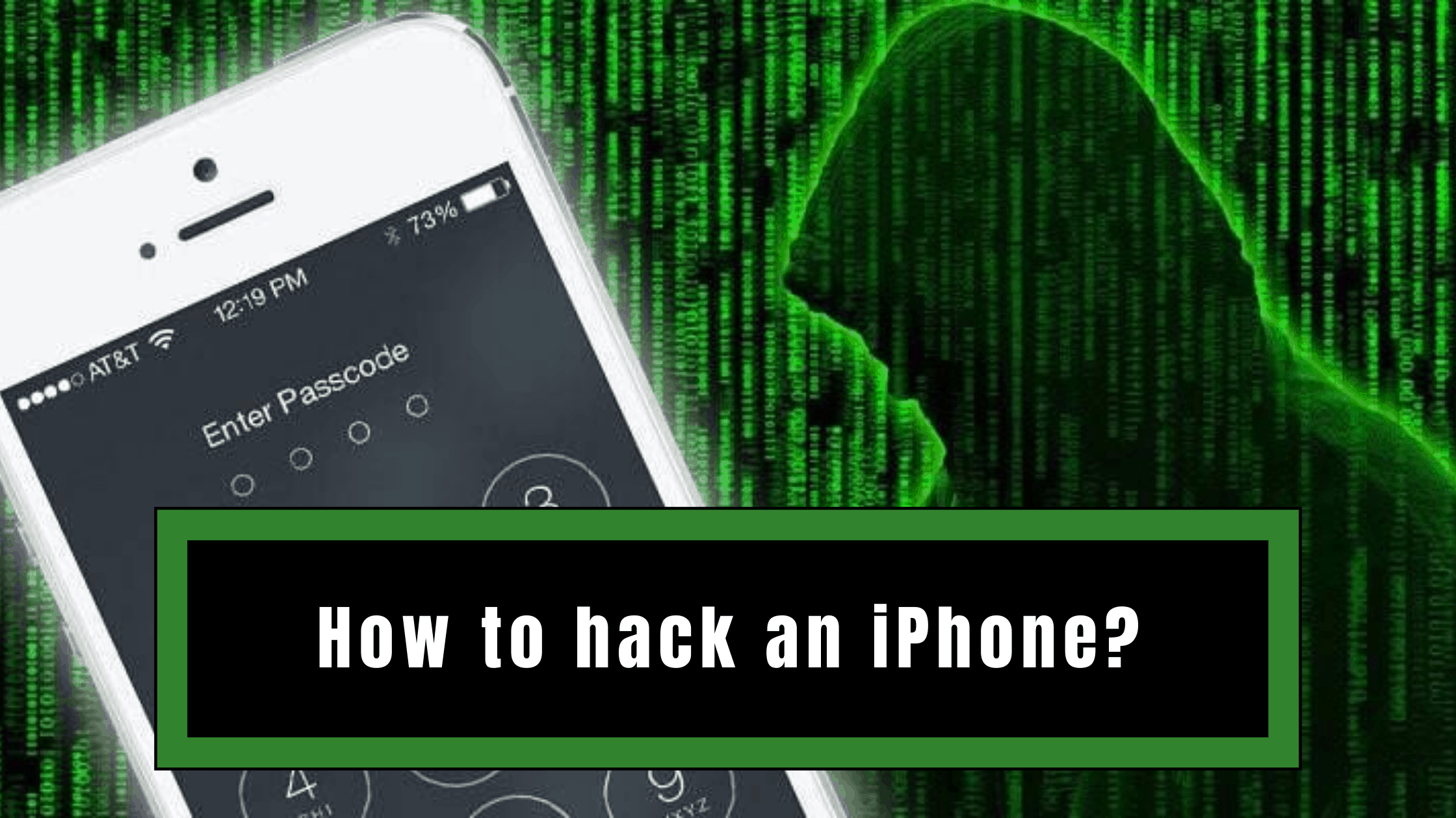 How to hack an iPhone