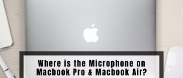 Where is the Microphone on Macbook Pro & Macbook Air