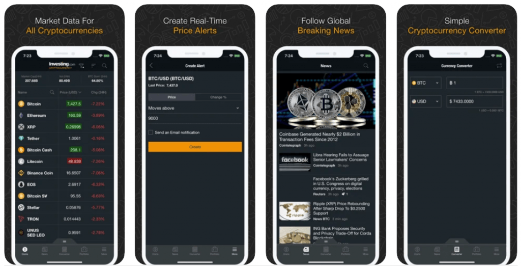 best app for cryptocurrency