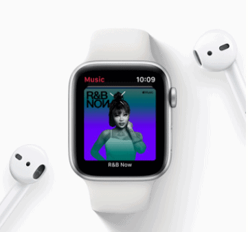 apple watch music streaming