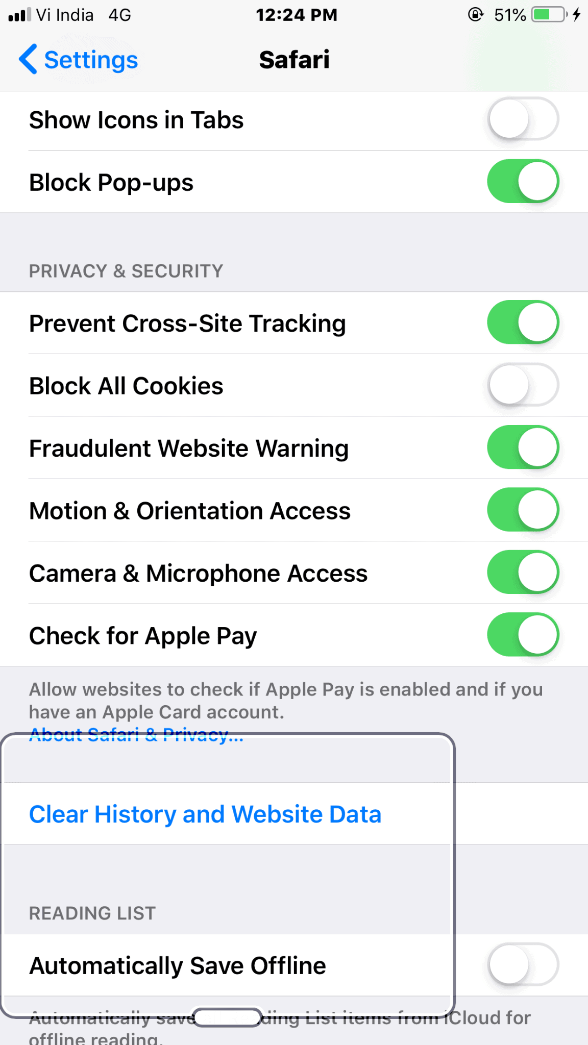 iphone other storage bug