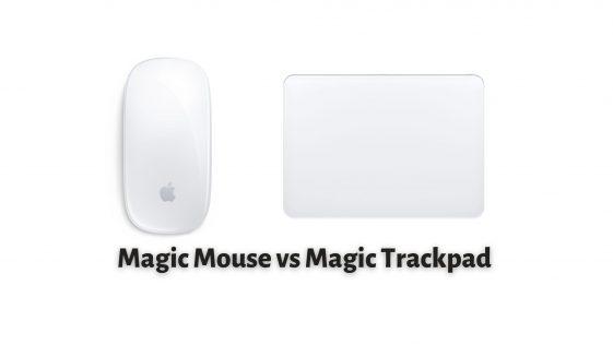 Magic Mouse vs Magic Trackpad