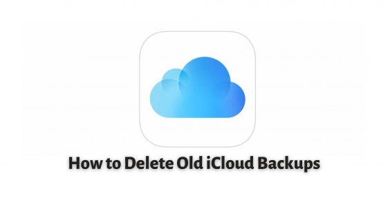 How to Delete Old iCloud Backups